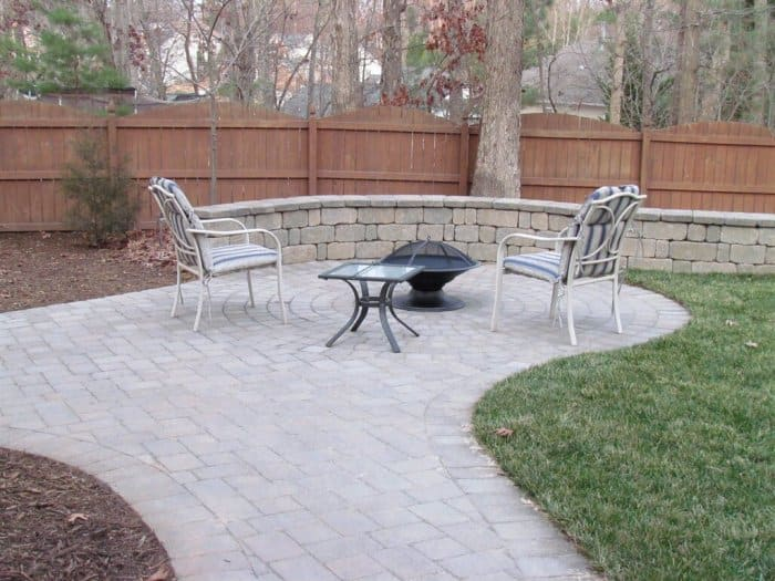How Much Does It Cost To Install A Patio Angies List - Cost to lay outdoor tiles