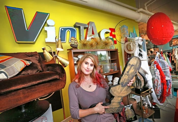 Jennifer Shirk, owner and operator of Queen Bee Vintage