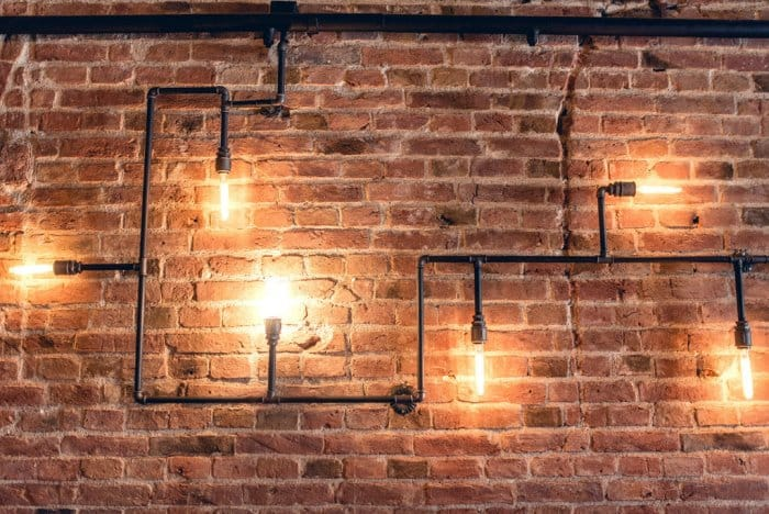 Unique Lighting Ideas Part - 27: Pipe Lights - Unique Lighting Idea