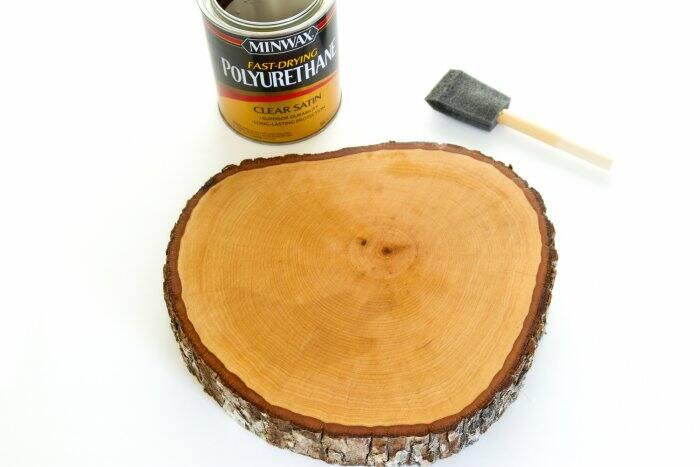 poly on tree slice