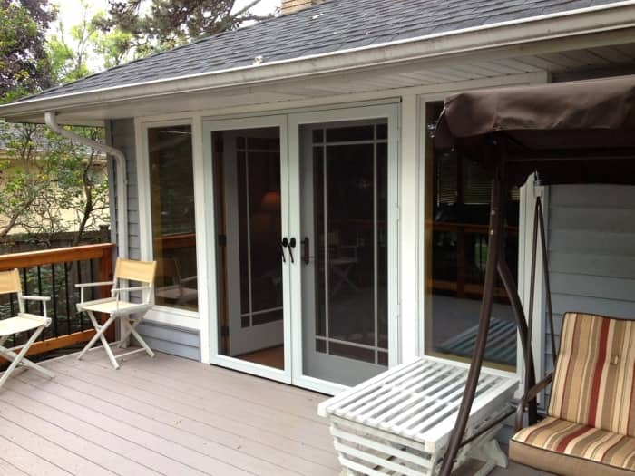 French Doors Going To A Patio