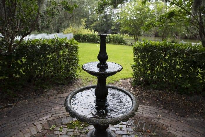 3 Tier Backyard Water Fountain In Savannah (Photo By Mike Fender)