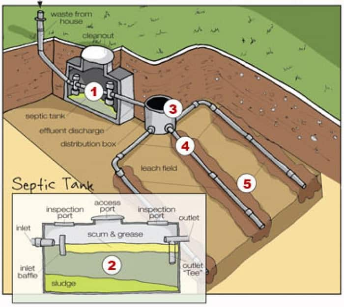 Septic tank graphic