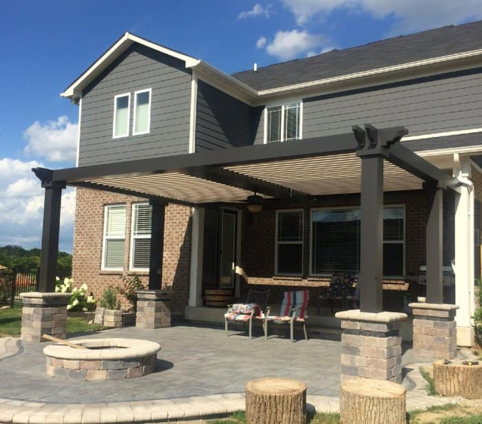 Smart Pergolas Can Attach To Existing Structures Or Stand On Their Own.  (Photo By The Smart Pergola)