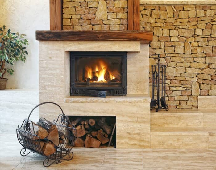 How to choose the right fireplace stone angie 39 s list for Choosing a fireplace