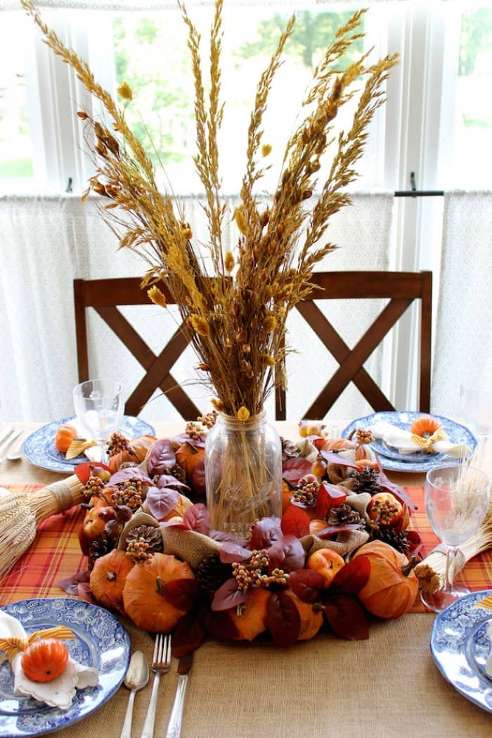 Thanksgiving table deorations