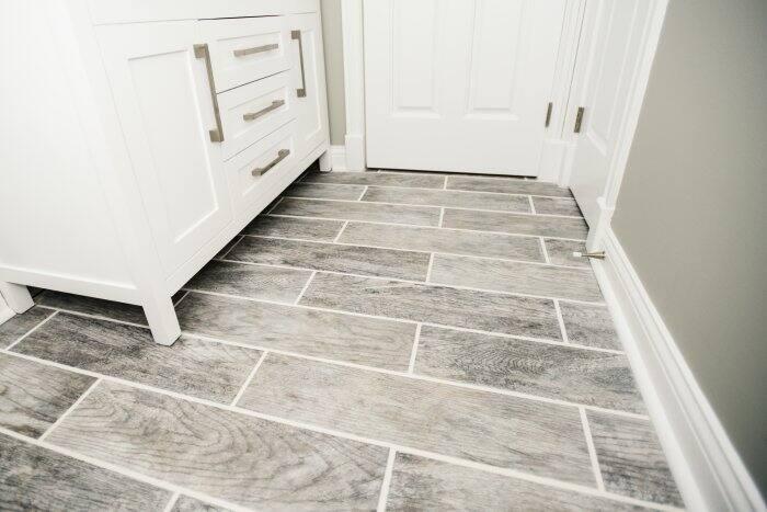 Gentil Bathroom Floor Tile