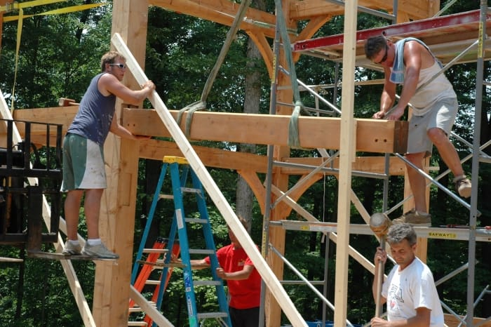 How much do timber frame homes cost to build angie 39 s list for A frame house construction cost