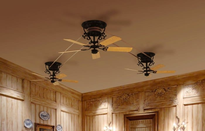 Types of ceiling fans to cool your home angie 39 s list - Belt driven ceiling fan ...