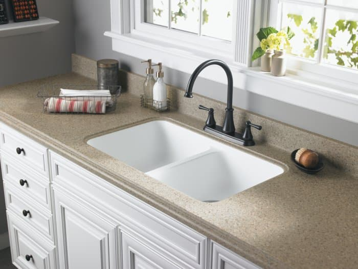 Undermount Bathroom Sink With Laminate pros and cons of undermount kitchen sinks | angie's list