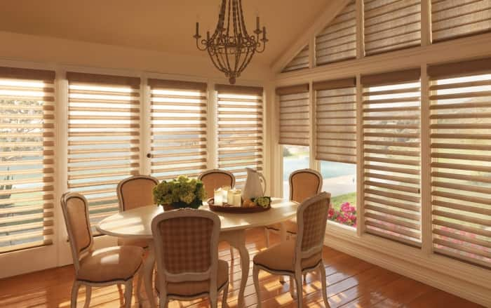 Pirouette window shadings by Decorview