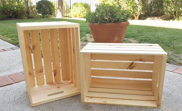 Turn Wooden Crates Into DIY Toy Storage