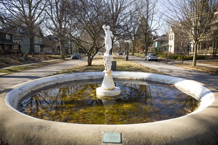 Woodruff Place Fountain
