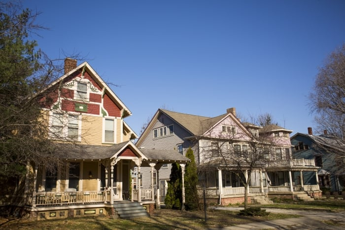 Homes in Woodruff Place Indianapolis