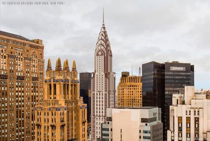 Chrysler Building Gothic Style