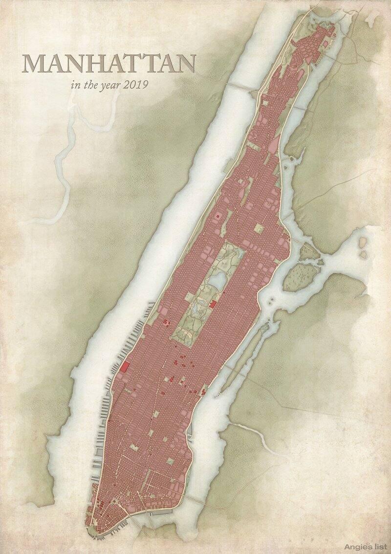 Manhattan in 2019