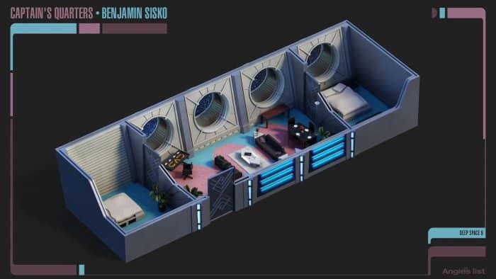 Benjamin Sisko's Quarters