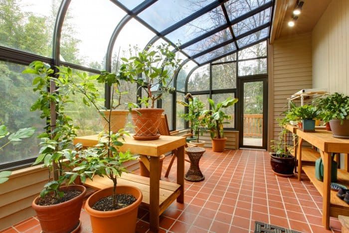 Perfect Consider Adding A Greenhouse Instead Of A Patio Or Deck. (Photo Courtesy Of  Irina88w