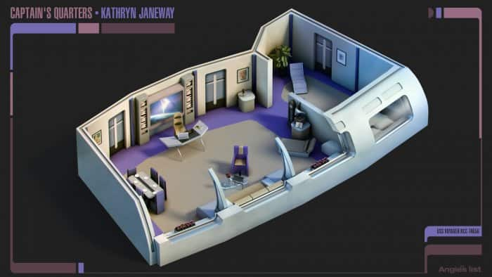 Kathryn Janeway's Quarters