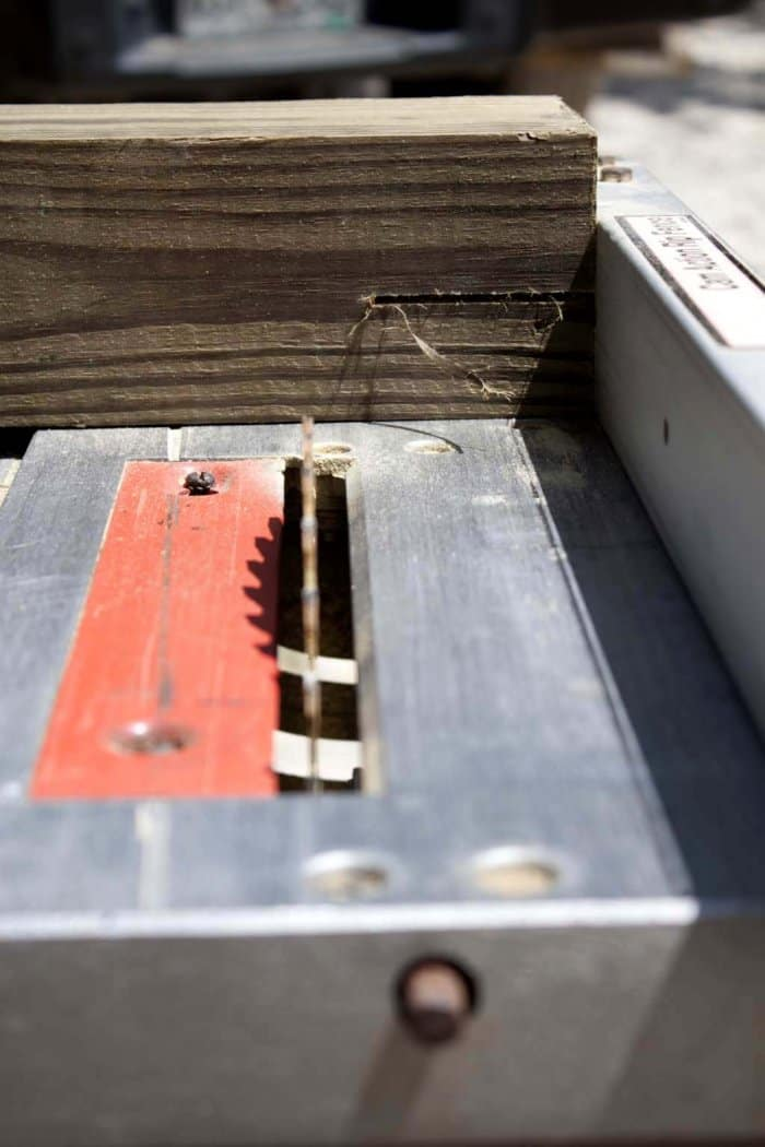 Create Notches For The 2x4s To Rest. (Photo Courtesy Of Jamie Lott/Southern