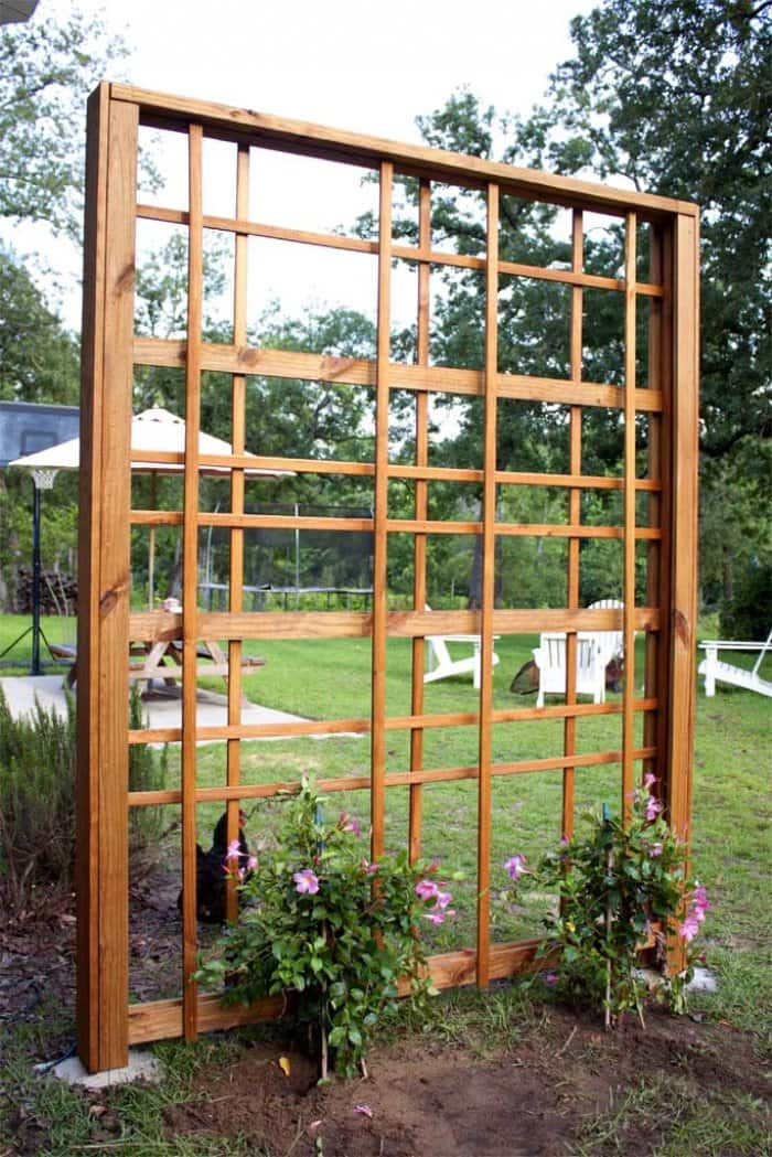 Add a stain or paint for a finished look. (Photo courtesy of Jamie Lott/Southern Revival)