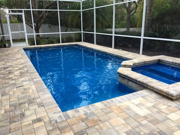 7 basic swimming pool designs angie 39 s list for Pool lanai cost