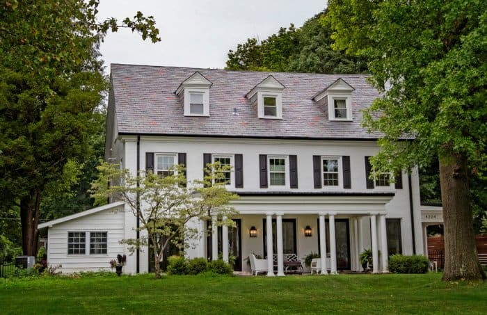 What is a colonial style house angie s list