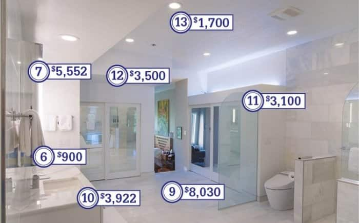 How Much Does A Master Bathroom Remodel Cost?