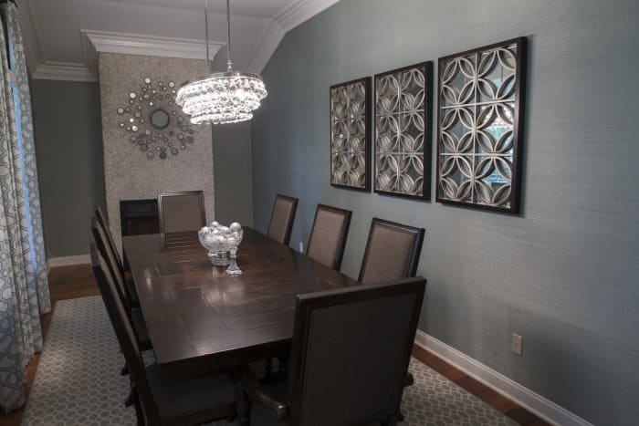 The Dining Room Of Member Mindy Donovan Of Savannah, Georiga, Emphasizing  Clean And Simple