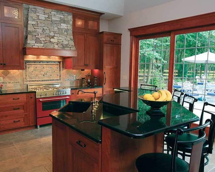kitchen remodel with center island