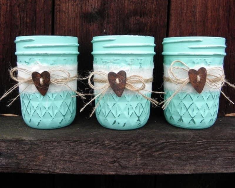 mason jar decorating
