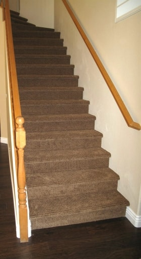Darker Carpet On Stairs