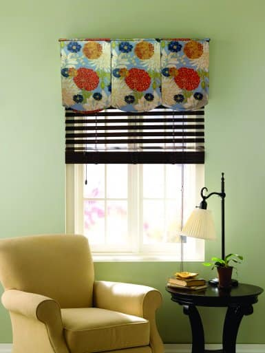 Nice Flowered Window Valance