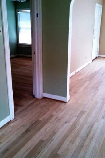 New Homeowner Has Hardwood Floors Revamped Before Move In