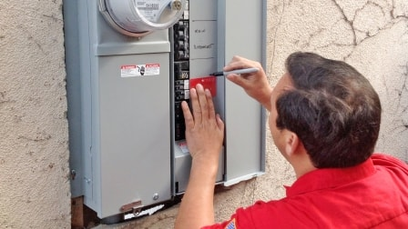 The most important benefit of upgrading your electrical system is that your home will be protected from fire hazards caused by overloaded circuits. (Photo courtesy of Point Loma Electric)