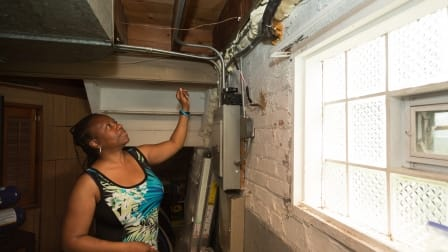 Chicago home energy efficient insulation