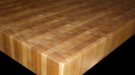 bamboo kitchen countertop