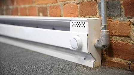 Baseboard Heater (Photo by Steve C. Mitchell)