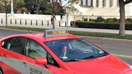 D.C. cab (Photo by Jason Hargraves)