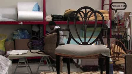 Video: Reupholstering Gives New Life To Furniture