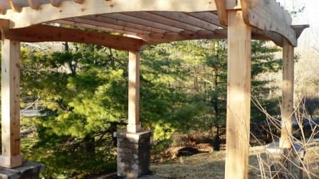 pergola2?itok=Nn2CcL9O the pros and cons of retractable deck awnings angie's list  at fashall.co