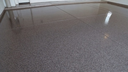 Epoxy Coating Transforms Boring Flooring Angie S List