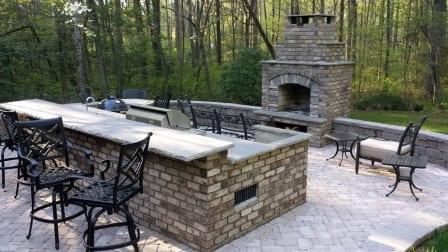 Outdoor kitchen charlotte