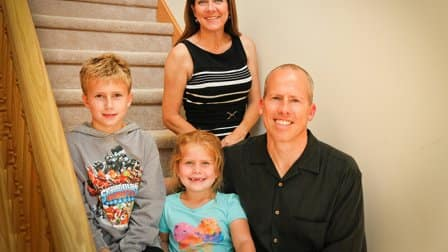 Westfield, Ind. family rebuilds after home is destroyed by lightning strike fire