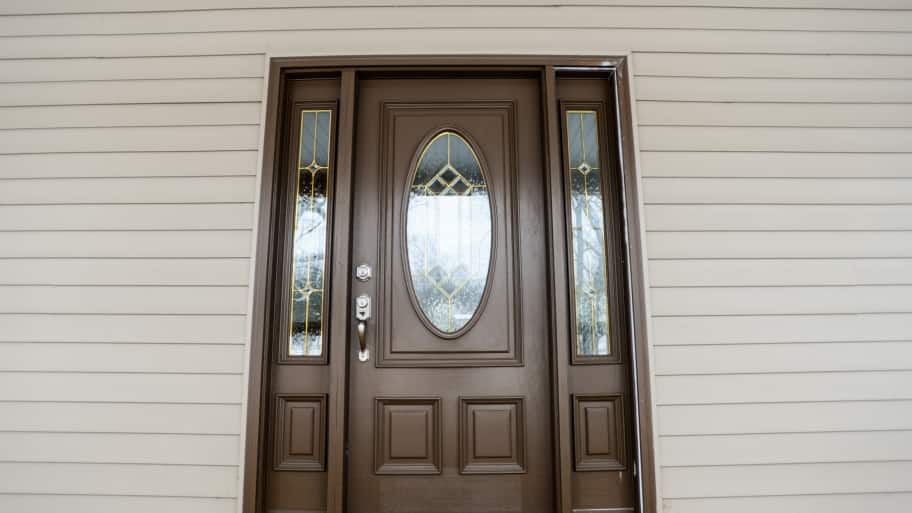 6 tips for a more secure front door angie 39 s list for Front door with 6 windows