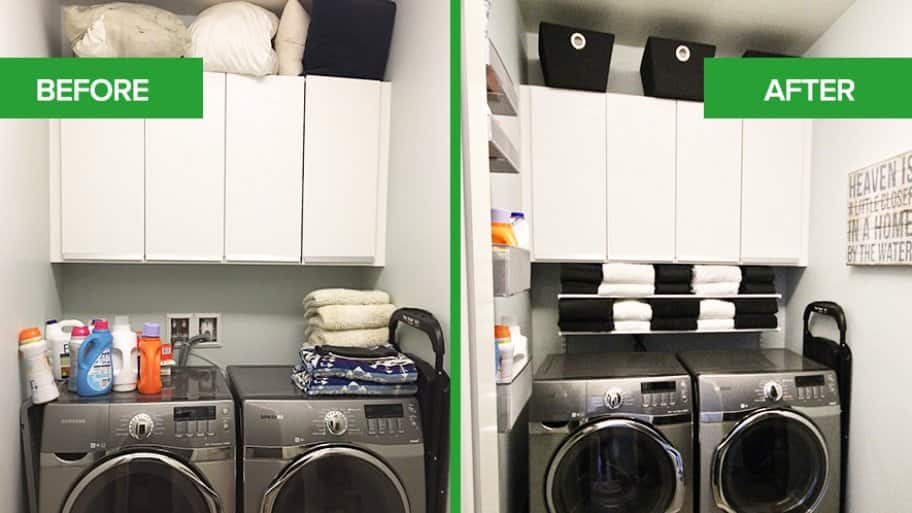 Laundry Room Refresh Condo Wash Out To Modern Masterpiece