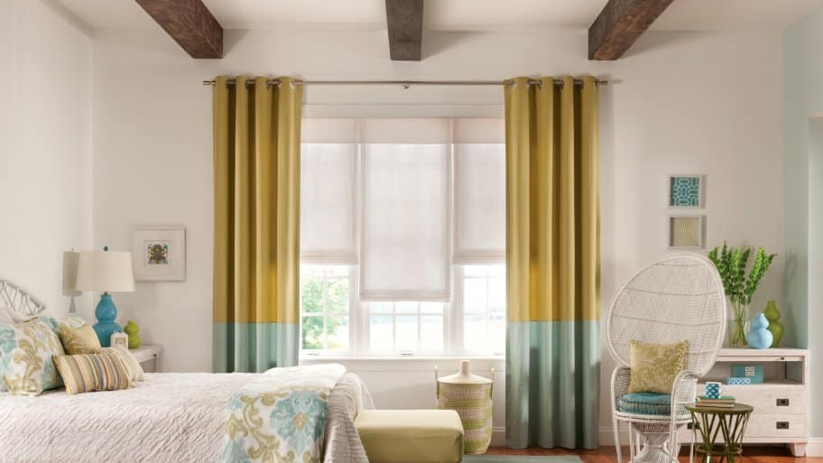 Window treatment ideas for your bedroom angie 39 s list for Bedroom window styles