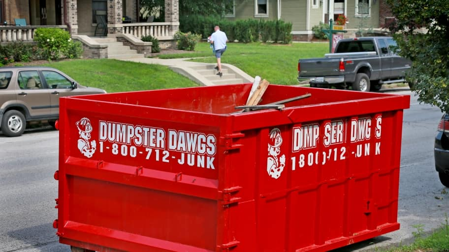 3 things to know about dumpster rental angie 39 s list. Black Bedroom Furniture Sets. Home Design Ideas