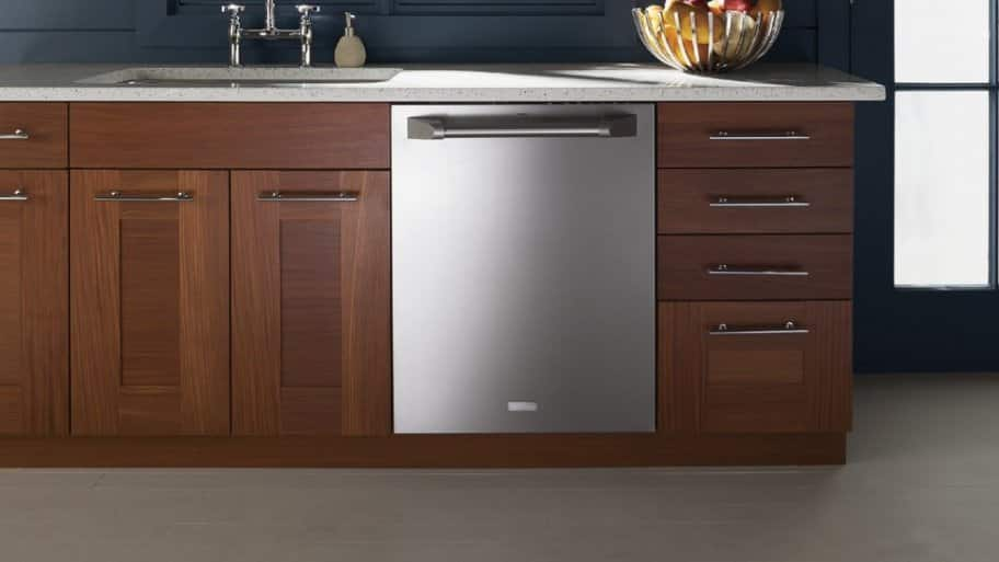 GE Monogram fully integrated 24-inch built-in smart dishwasher