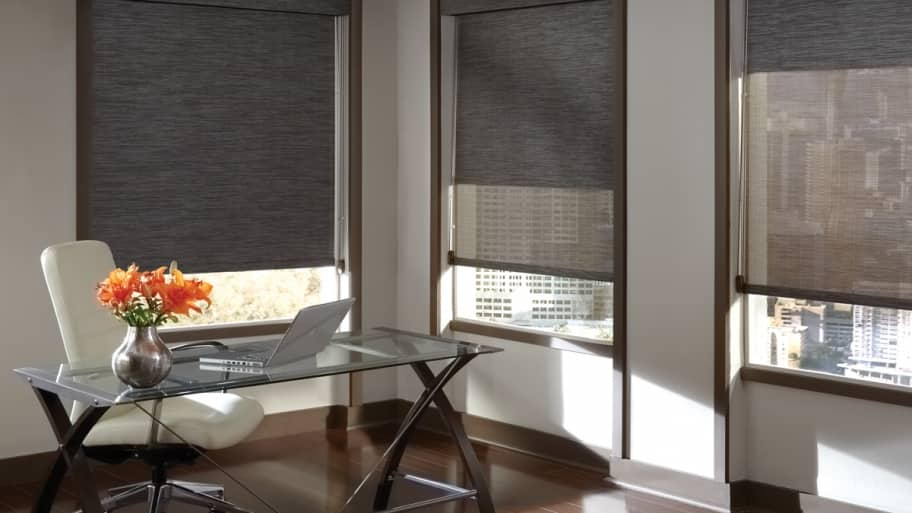 screen shades block out heat in the summer but let in the sun s rays